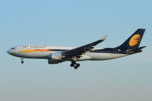 Jet Airways   A330-202   VT-JWM | by Globespotter