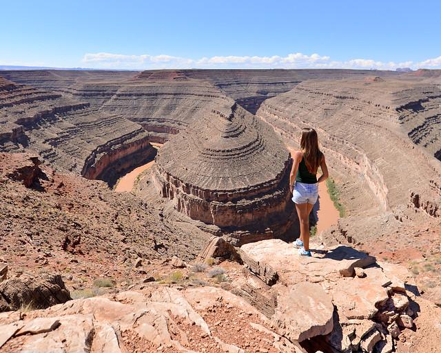 Mirador Gooseneck, de los miradores que ver en la Costa Oeste de Estados Unidos más impresionantes