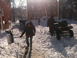 Digging out Sharon Alley | by Alli77