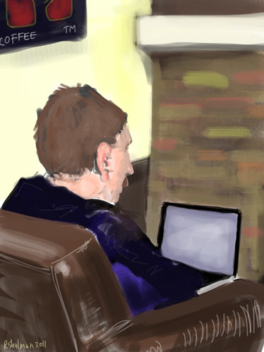 Random Starbucks Guy | by ipad junkie
