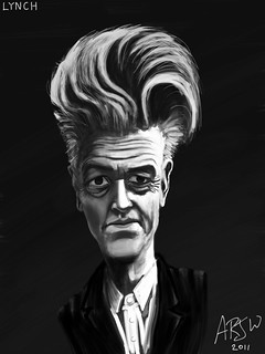 David Lynch iPad Brushes Sketch | by Mr Atrocity