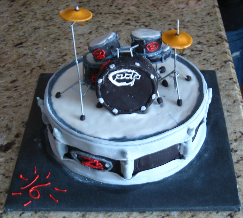 How To Make A Drum Cake Video