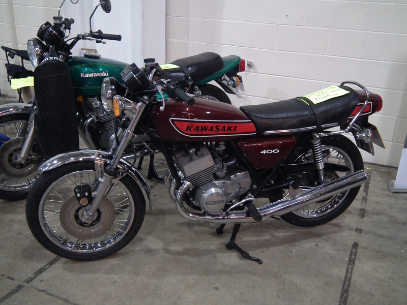 Kawasaki Kh400 Motorcycle 11th Classic Japanese Modern Cl
