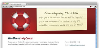 WordPress HelpCenter Reopening! | by alexkingorg