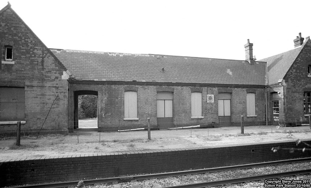 Sutton Park Station   Sutton Park Station on 02/10/80 ...