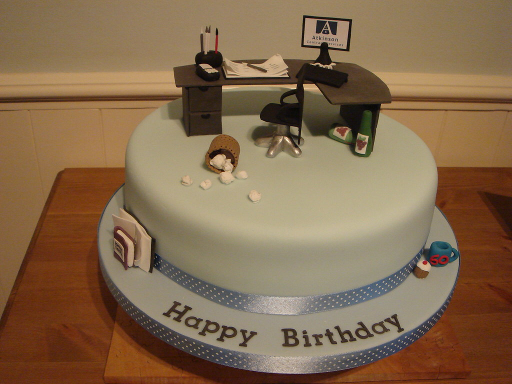 Office Cake Designed for someone who spends a lot of ...