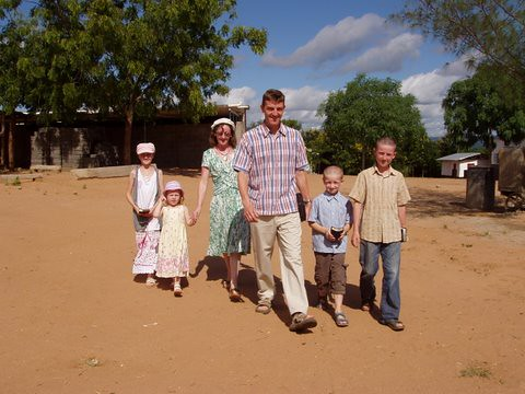 Rodney Elma And Family Going To Church