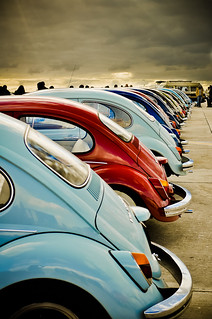Colourful VW Beetles rear | by |||*Sue*||| perishable¦perspectives