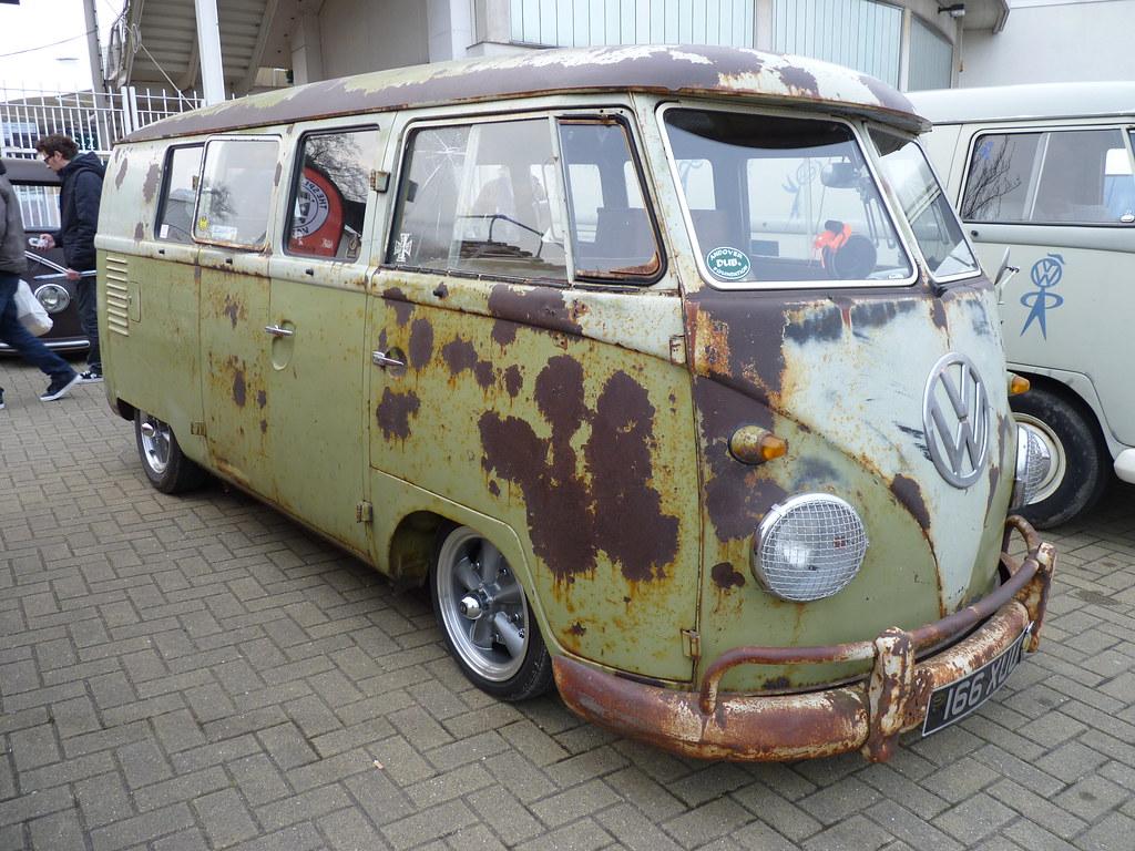 Vw Split Window Rusty Rat Bus Gordon Calder 5 5
