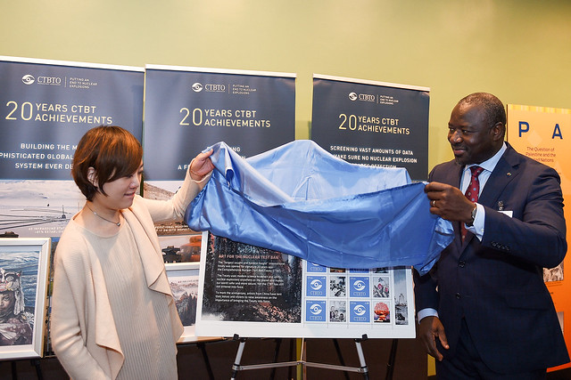 CTBT 20 UN Stamp Launch Event