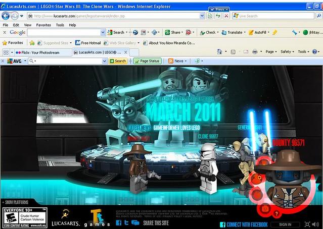online lego star wars