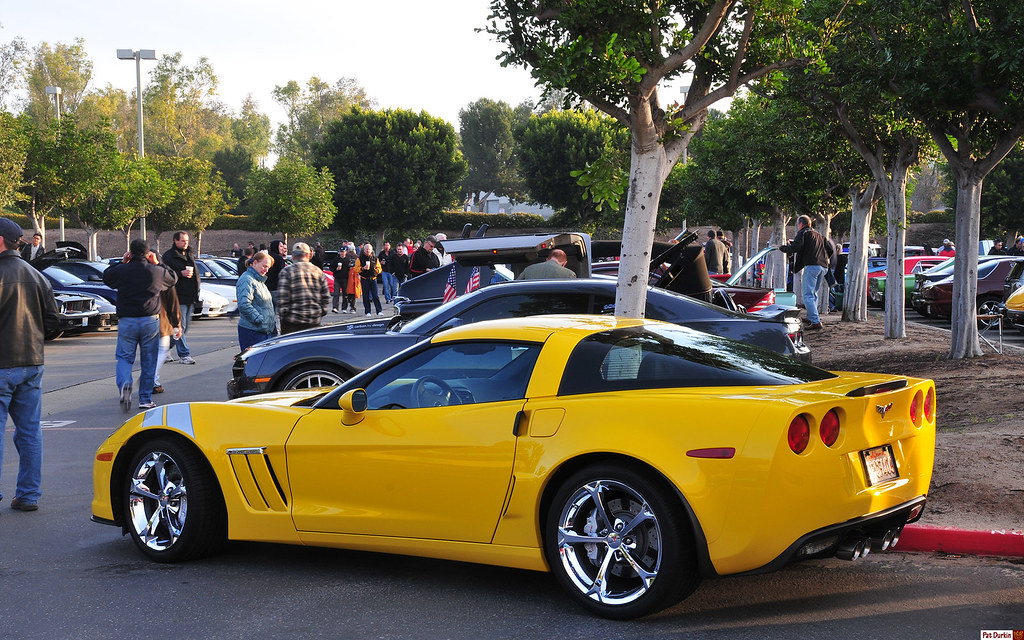 2011 Chevrolet Corvette Grand Sport Yellow Rvl Flickr