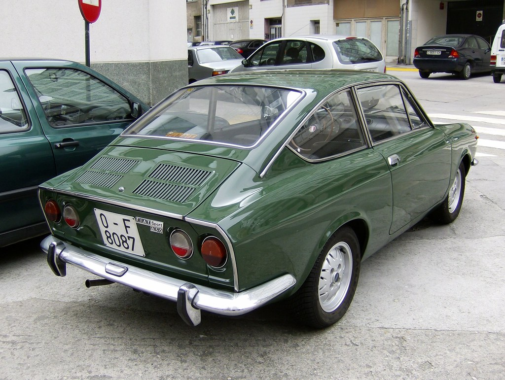 1974 fiat 850 sport coupe fiattipoelite flickr. Black Bedroom Furniture Sets. Home Design Ideas