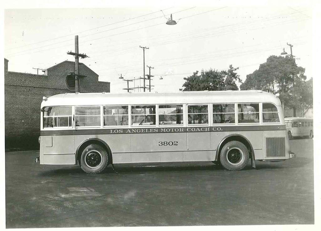 Los Angeles Motor Coach Bus 3802 This Bus Has 32 Seats