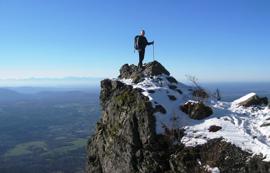 A Nice February Hike Up Mount Si On A Beautiful Winter
