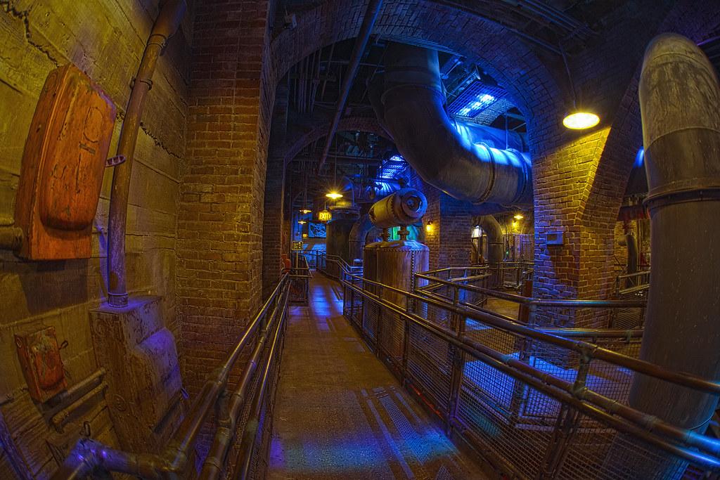 Tower Of Terror Boiler Room
