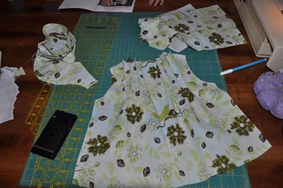 toddler blouse in progress | by vickivictoria