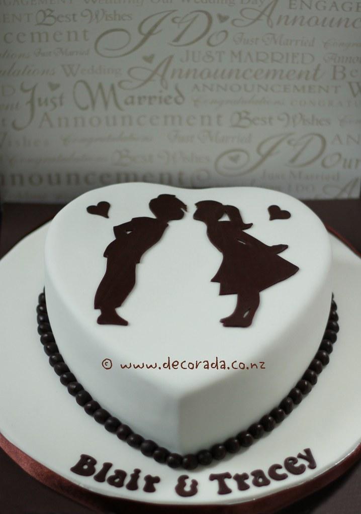 Heart Shaped Chocolate Cake Designs