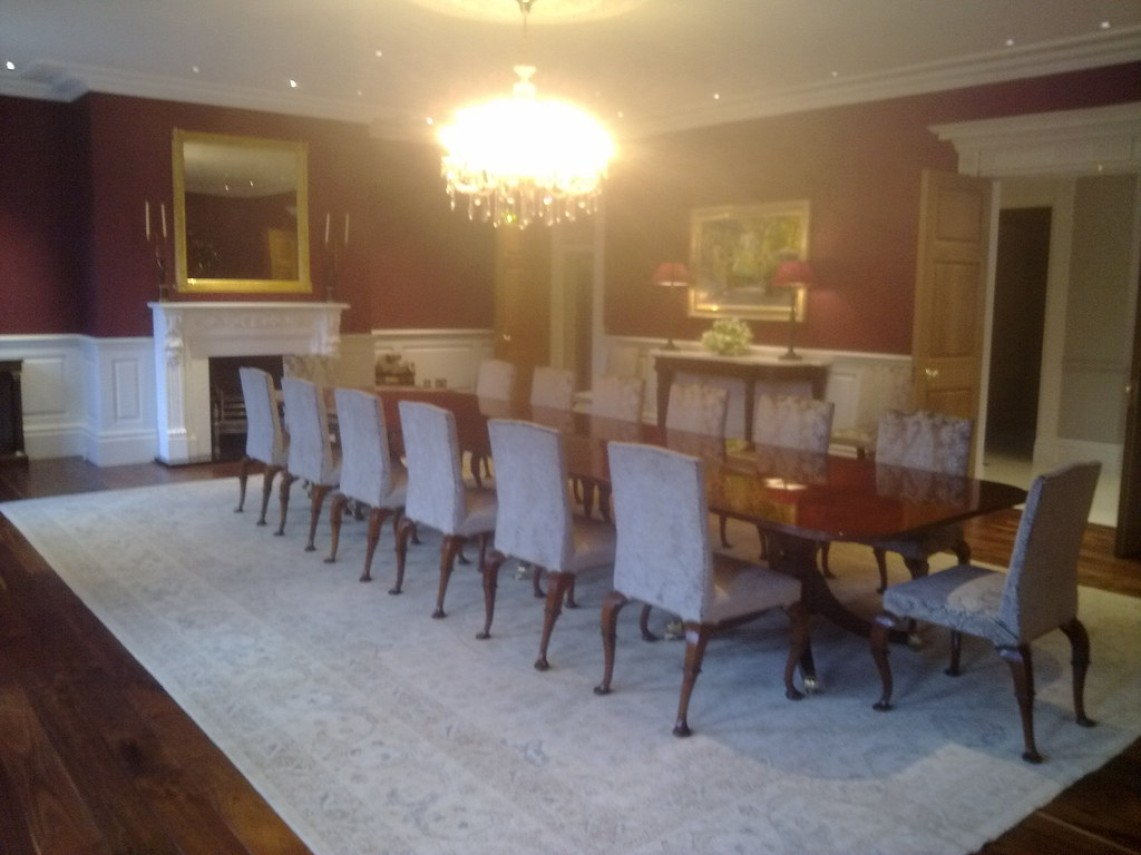 Dining room wall panels by wall panelling ltd wall panelling flickr - Dining room panels ...