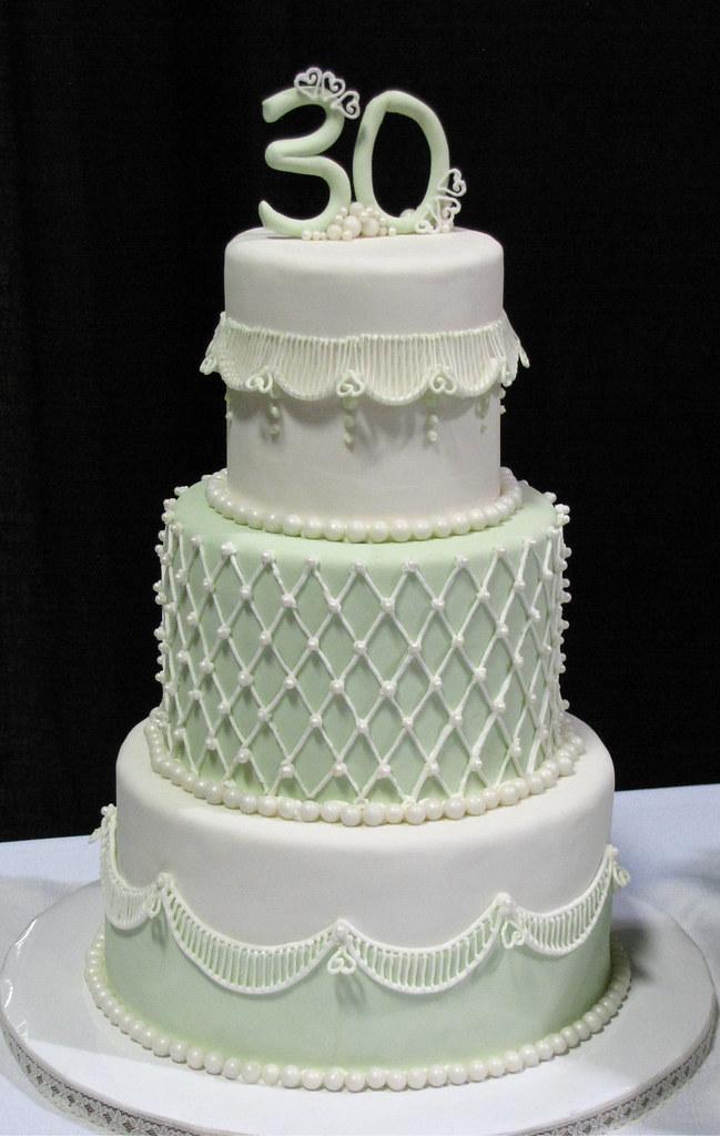 My 30th Birthday Cake By Jennifer Whiteley Sp