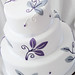 Purple & Silver 3 Tier