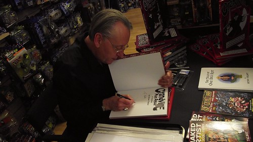Bryan Talbot signing Forbidden Planet Edinburgh 010 | by byronv2