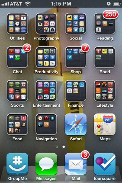 All My Apps On One Screen Flickr Photo Sharing