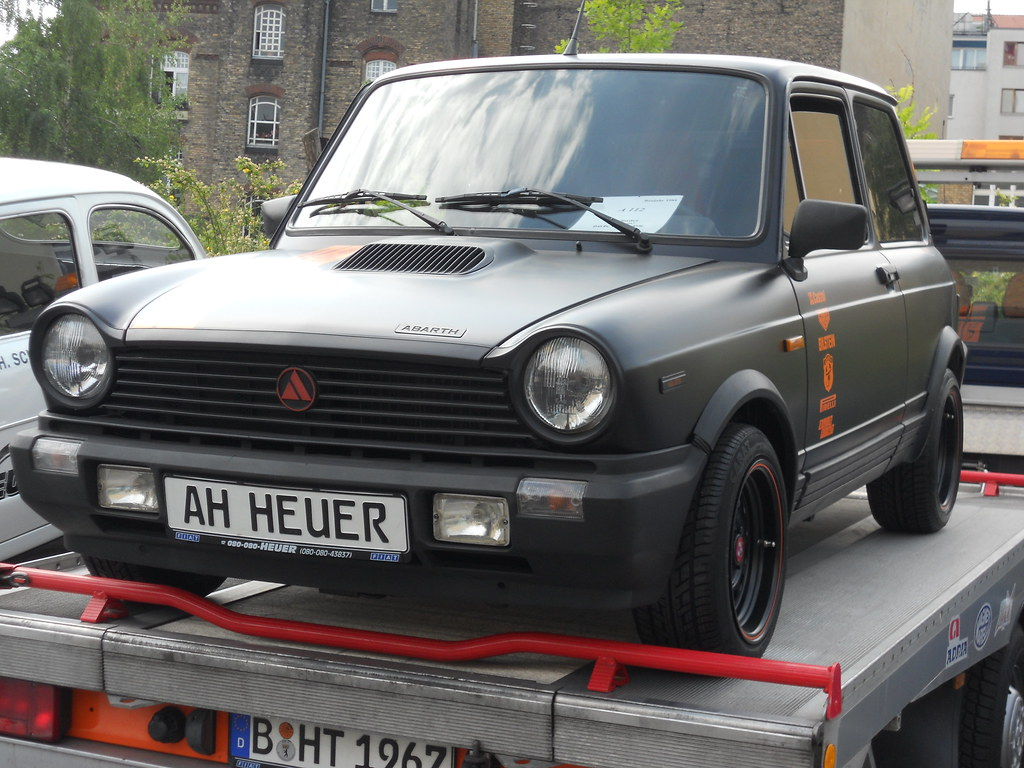 Autobianchi A112 Abarth 70 Hp Hot Hatch En Wikipedia