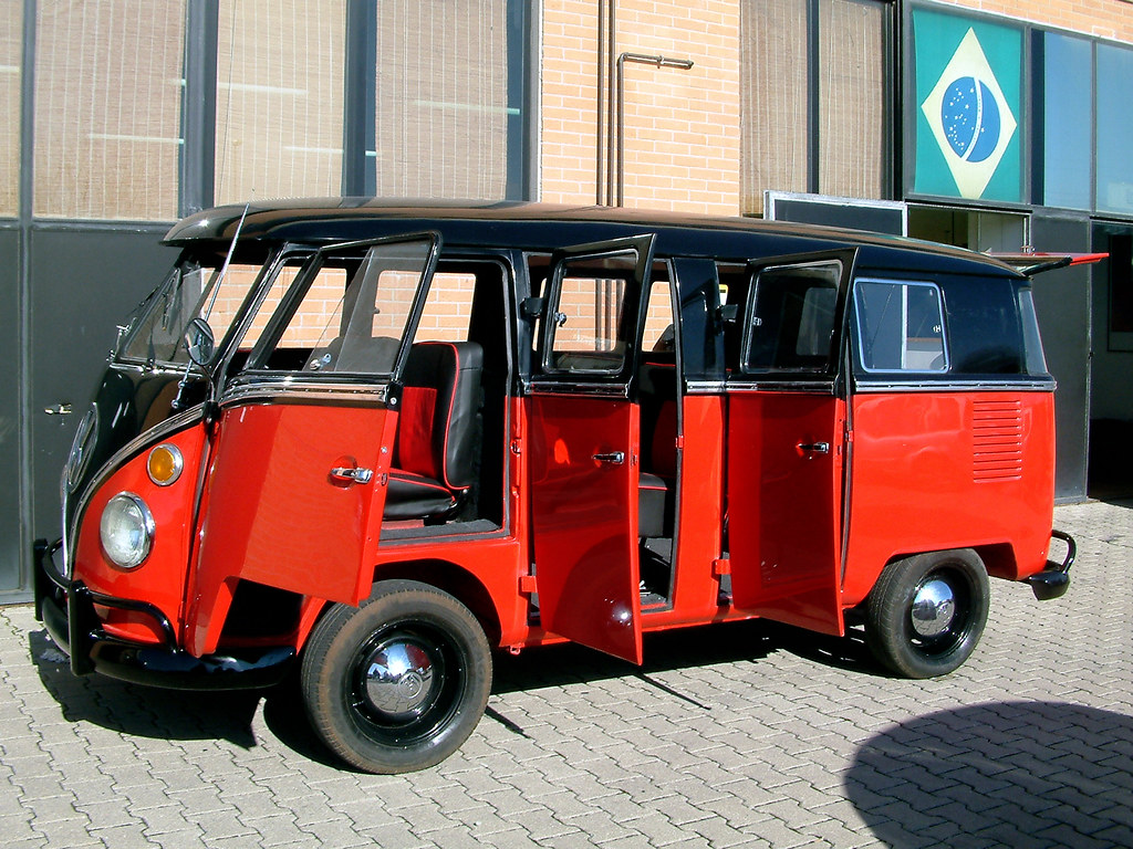 vw t1 6 doors taxi rare vw t1 1974 kombi bus 13 win 6. Black Bedroom Furniture Sets. Home Design Ideas