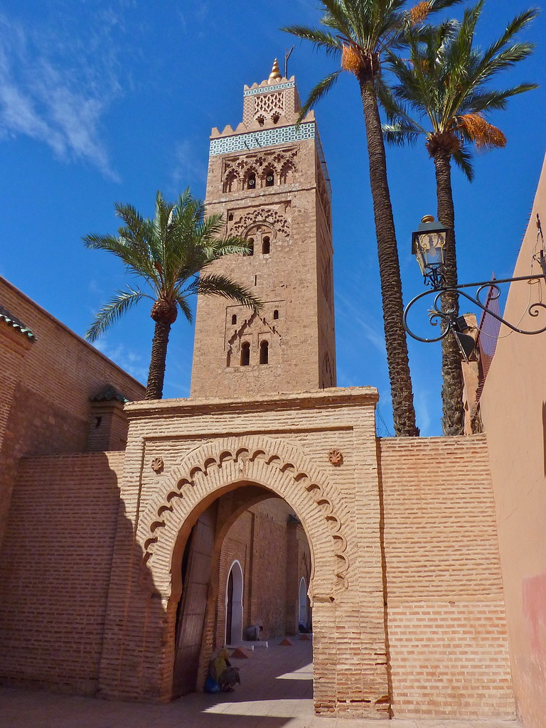 koutoubia mosque marrakech the koutoubia mosque is a. Black Bedroom Furniture Sets. Home Design Ideas