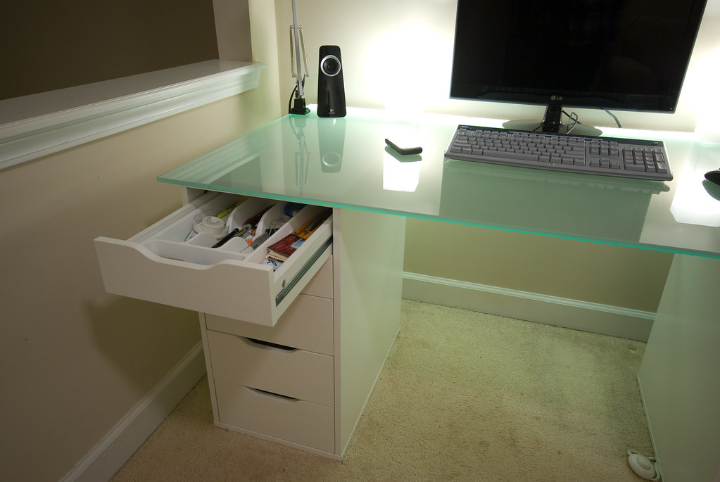 Desk Drawer Paper Organizer