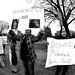 Protest against Libya's Muammar Ghaddafi
