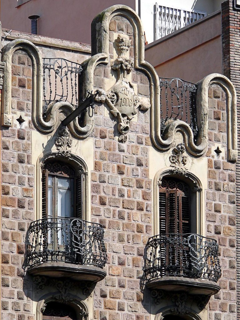 Barcelona aribau 178 b casa torres germans ii 1906 - Casa torres barcelona ...