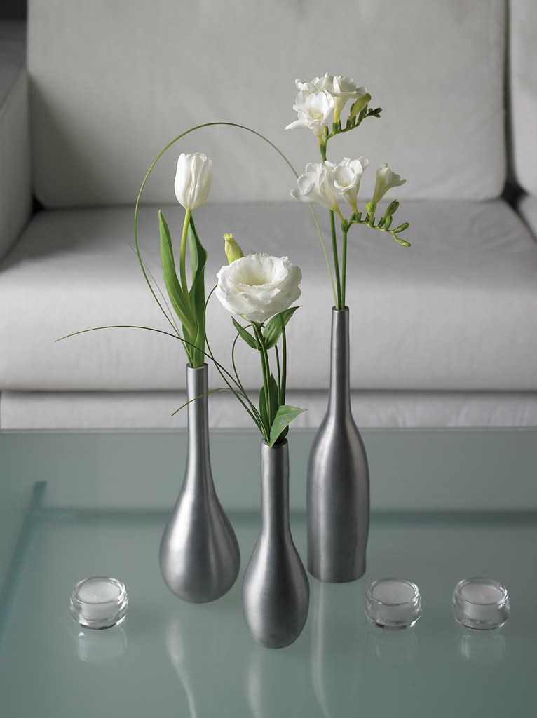Flowers In The Living Room For A Structured