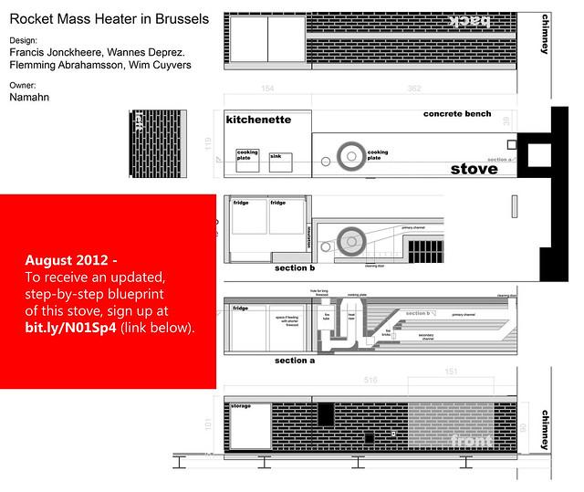 Rocket stove plans get the blueprint by francis for Rocket stove design plans