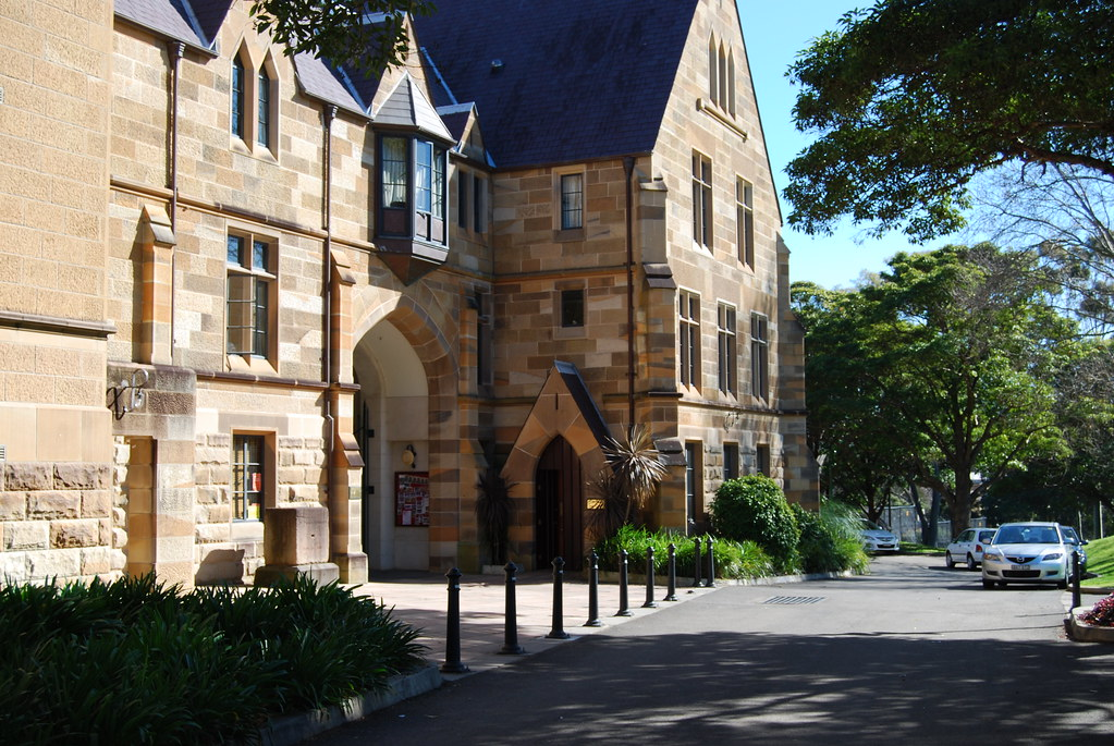 St Paul S College University Of Sydney Extracts From Web Flickr