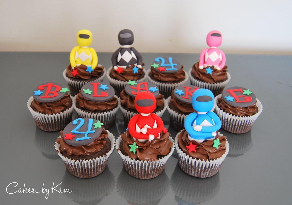 Power Rangers Cupcakes Kimberly Warren Flickr