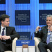 Nick Clegg and Jean-Claude Trichet - World Economic Forum Annual Meeting 2011