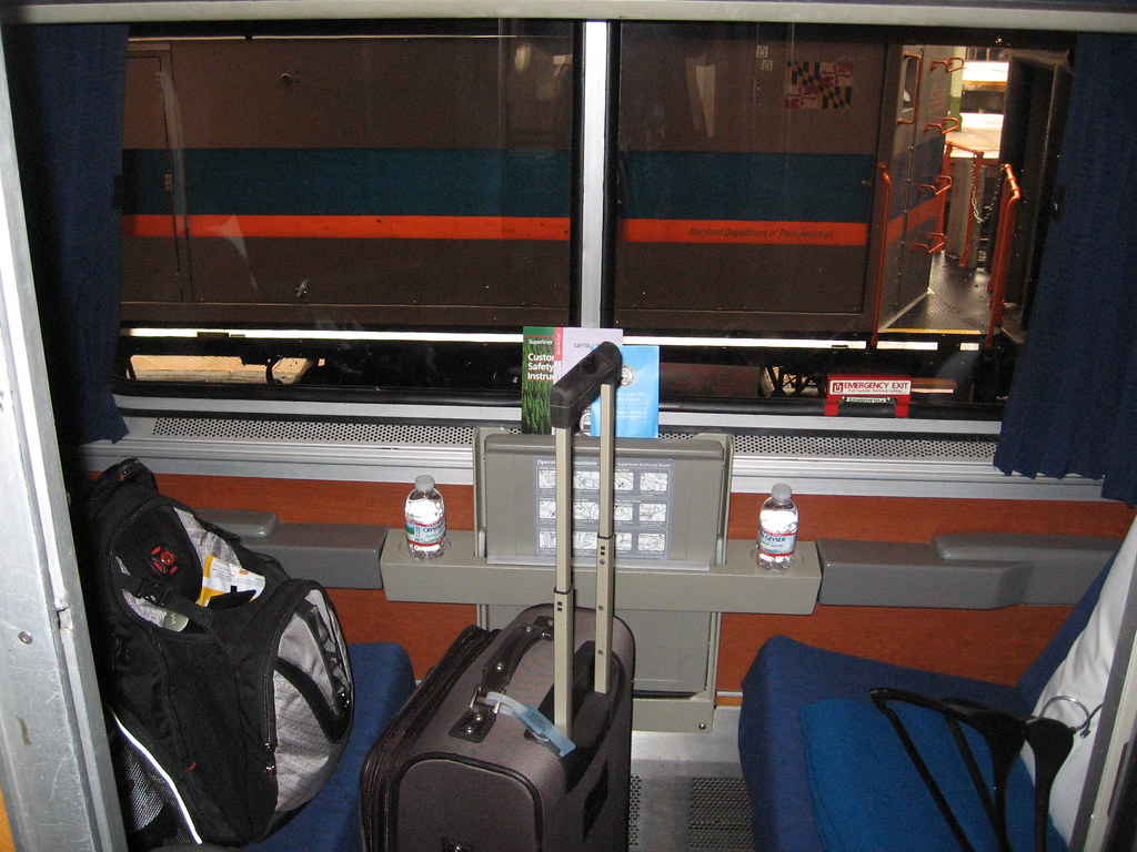 Amtrak Capitol Limited Roomette I Was Excited To Be On My Flickr