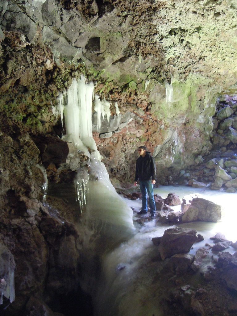 Day 17 New Mexico— Ice cave — and lava tubes! | howardgnome  |New Mexico Ice Caves