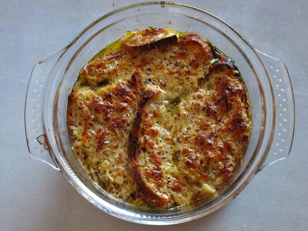 Sopa de verdura con costra - Hacer menestra de verduras ...