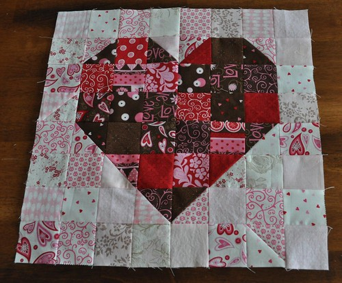heart mini quilt | by vickivictoria