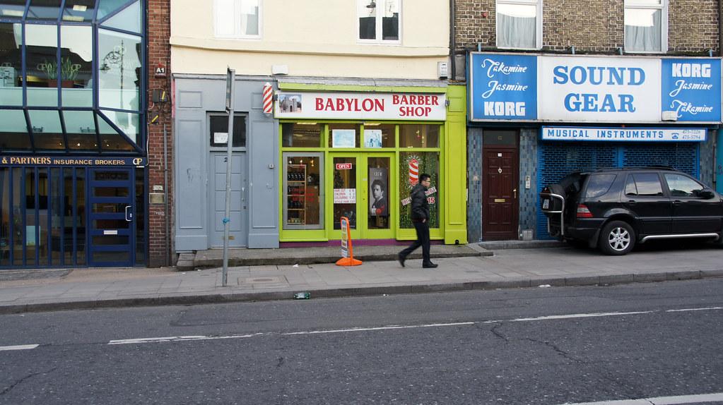 Barber Shop In The Area : Babylon - Barber Shop - Portobello Area Of Dublin William Murphy ...