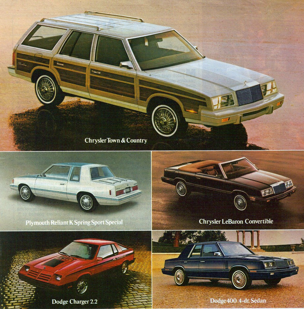 1982 chrysler town country station wagon lebaron conver. Black Bedroom Furniture Sets. Home Design Ideas