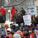 Minnesota rally in solidarity with Wisconsin union protesters
