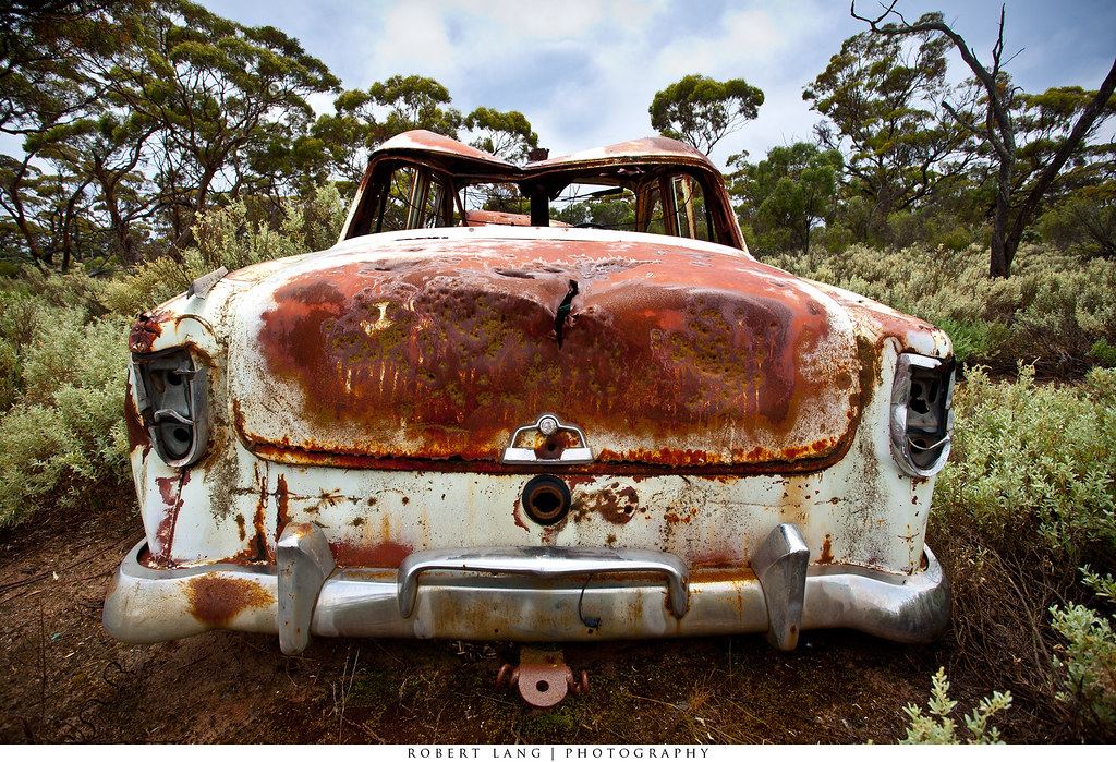 Abandoned Rusted Old Car Australia Abandoned Rusted Old