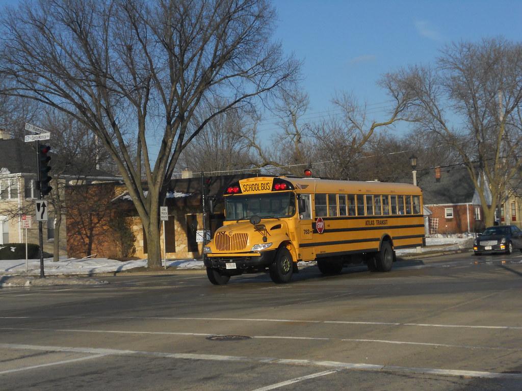 School Bus Fan : Whitefish bay high school fan bus on hampton in
