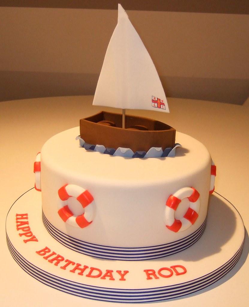 Boat Wedding Cake