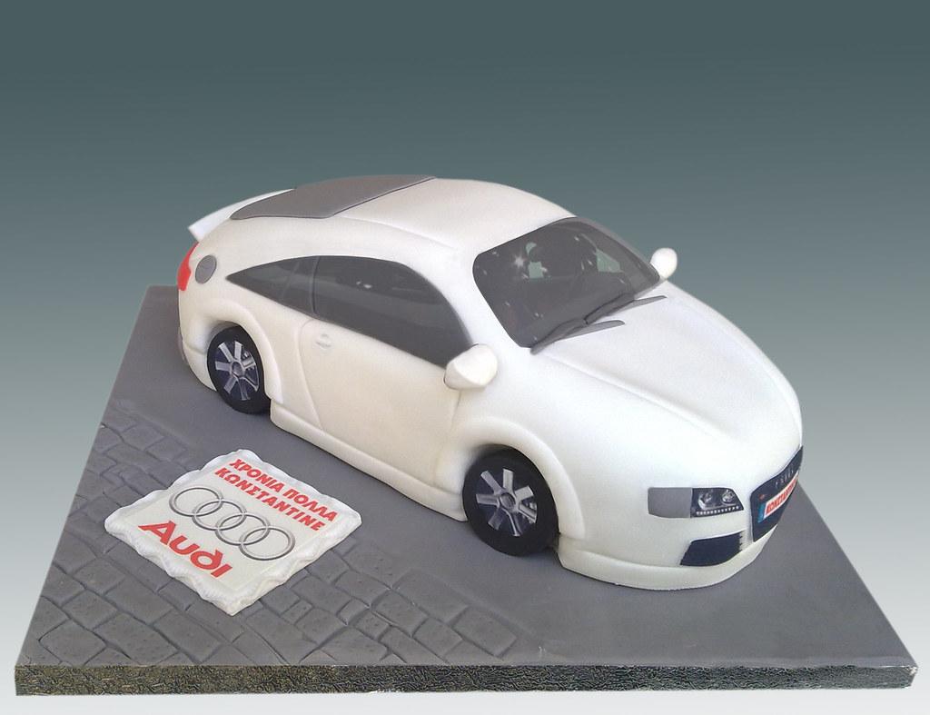 Audi Tt Cake Angeliki Kalouta Flickr