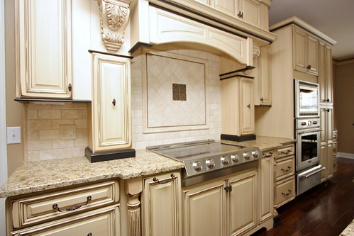 How To Glaze Kitchen Cabinets Video